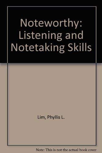 9780066326375: Noteworthy: Listening and Notetaking Skills