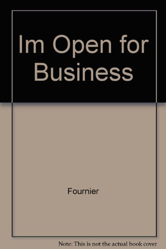 Im Open for Business: n/a