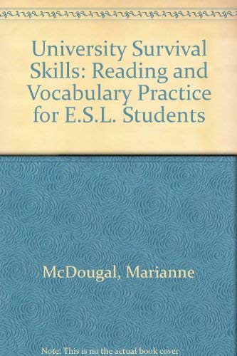 9780066326450: University Survival Skills: Reading and Vocabulary Practice for E.S.L. Students