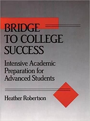 9780066326580: Bridge to College Success