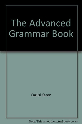 9780066326689: The Advanced Grammar Book