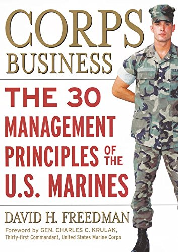 9780066619781: Corps Business: The 30 Management Principles of the U.S. Marines