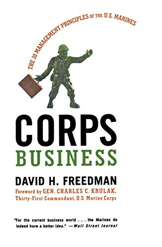9780066619798: Corps Business: The 30 Management Principles of the U.S. Marines