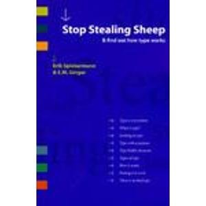 9780067248546: Stop Stealing Sheep & Find Out How Type Works