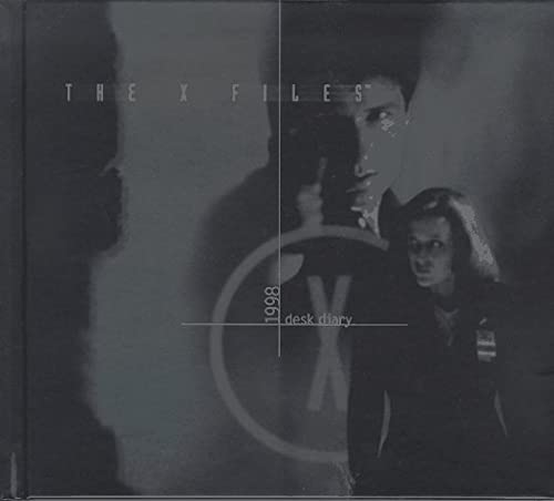 The X Files 1998 Desk Diary By Harperprism Very Good Hard Cover 1997 First Printing Bookmarc S