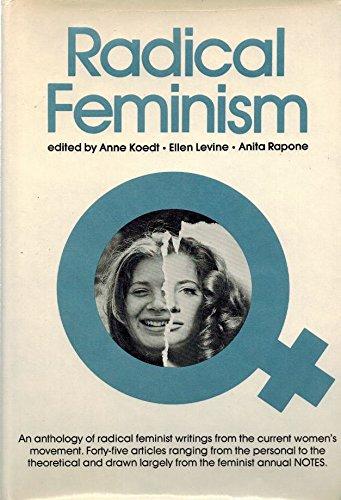 9780068409229: Radical Feminism