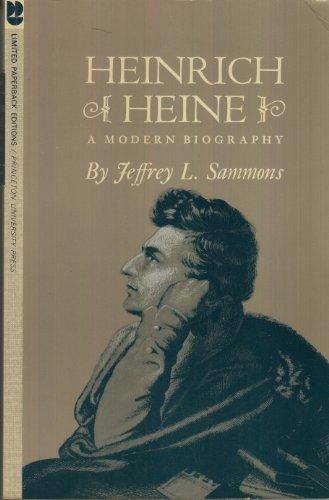 9780069100811: Heinrich Heine: A Modern Biography