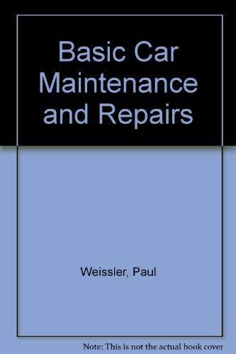 9780069145775: Basic Car Maintenance and Repairs