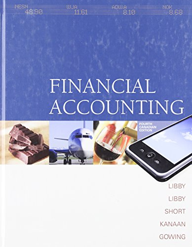 Financial Accounting with Connect Access Card, Fourth: Robert; Libby Libby