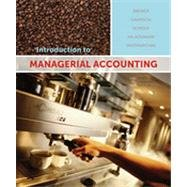 9780070002173: Introduction to Managerial Accounting (3rd Canadian Edition)