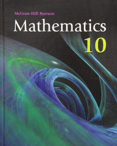 9780070002470: Mathematics 10 WNCP