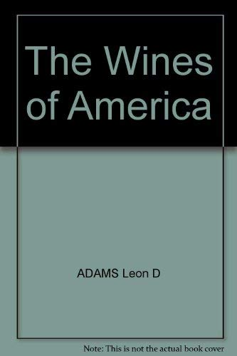 9780070003194: The Wines of America