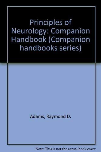 9780070003347: Principles of Neurology: Companion Handbook (Companion handbooks series)