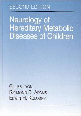 9780070003897: Neurology of Hereditary Metabolic Diseases of Children