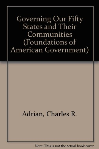 9780070004337: Governing our Fifty States and Their Communities