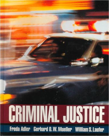 9780070004573: Criminal Justice