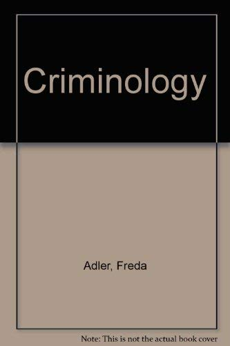 9780070004719: Criminology