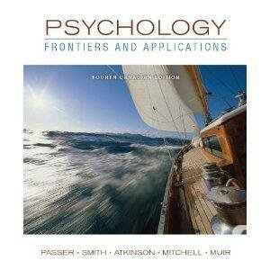 9780070005266: Psychology: Frontiers and Applications