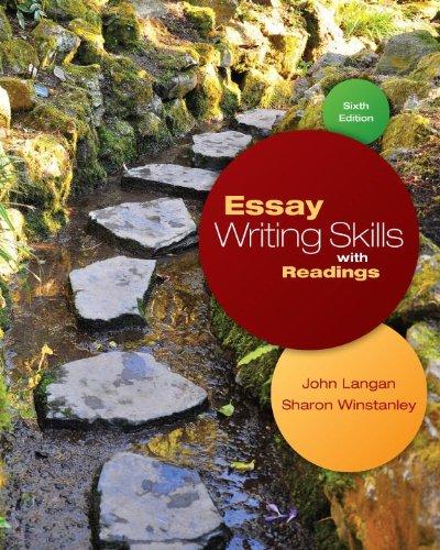 Essay Writing Skills with Readings: John Langan, Sharon