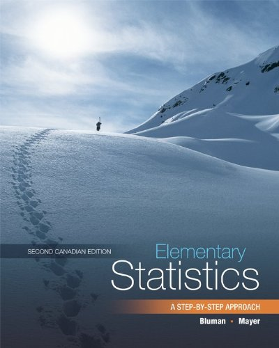 9780070005501: Elementary Statistics A Step by Step Approach