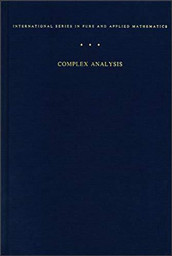 9780070006577: Complex Analysis
