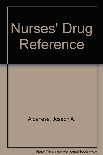 9780070007673: Nurses' Drug Reference