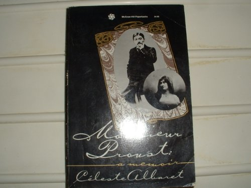 9780070009462: Monsieur Proust: A Memoir