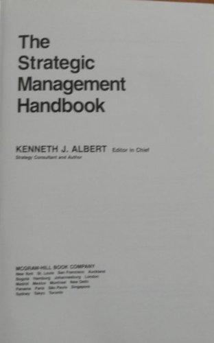 9780070009547: The Strategic Management Handbook