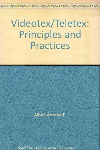 9780070009578: Videotext/Teletext: Principles and Practices