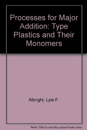 PROCESSES FOR MAJOR ADDITION-TYPE PLASTICS AND THEIR MONOMERS.: Albright, Lyle F.