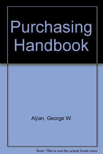 9780070010666: Purchasing Handbook