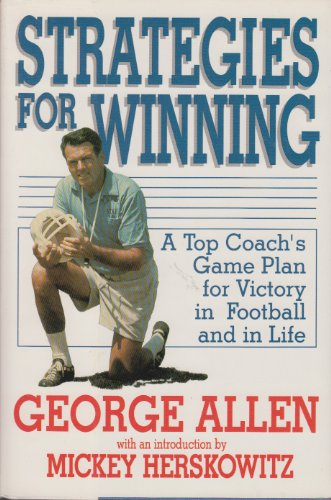 9780070010796: Strategies for Winning: A Top Coach's Game Plan for Victory in Football and in Life