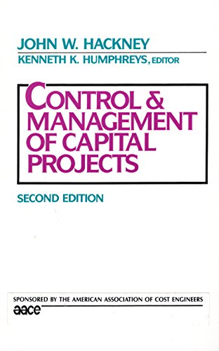 9780070012592: Control and Management of Capital Projects