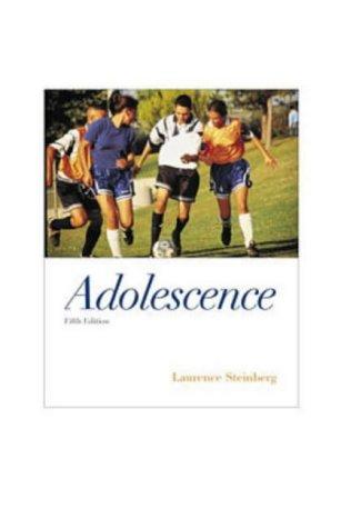 9780070013230: Adolescence