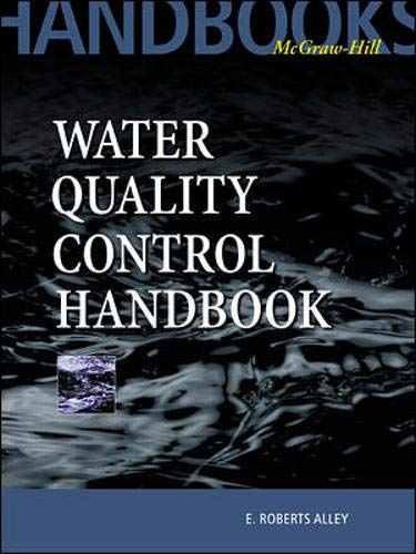 9780070014138: Water Quality Control Handbook