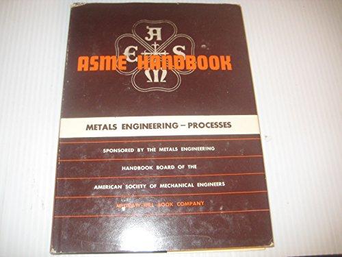 9780070015142: Metals Engineering Processes Handbook