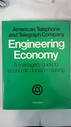9780070015302: Engineering Economy: A Manager's Guide to Economic Decision Making