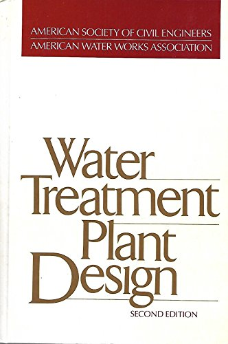 Water Treatment Plant Design: Amer Society of