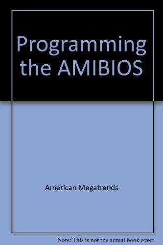 9780070015623: Programming the Amibios