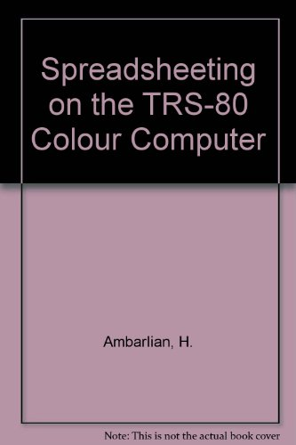 9780070015951: Spreadsheeting on the TRS-80 Colour Computer