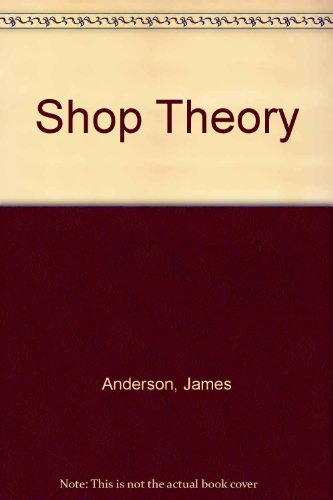 9780070016088: Shop Theory (5th Edition)