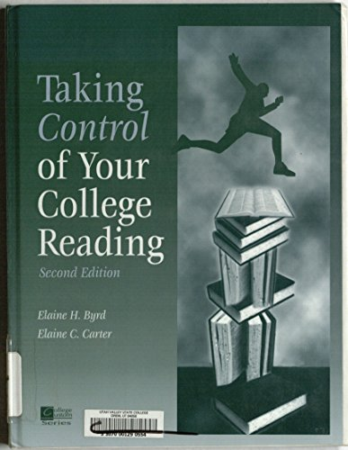 9780070016354: Taking Control of Your College Reading