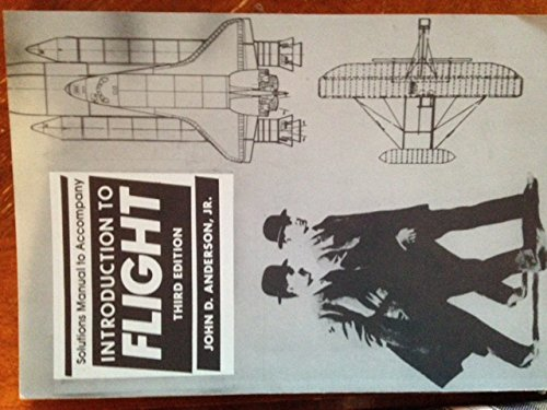 9780070016422: Solutions Manual to accompany Introduction to Flight Third Edition