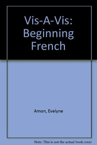 9780070017009: Vis-A-Vis: Beginning French