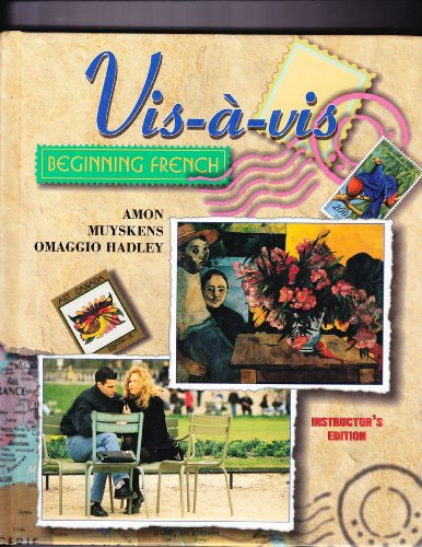 9780070017016: Vis-A-Vis: Beginning French (English and French Edition)