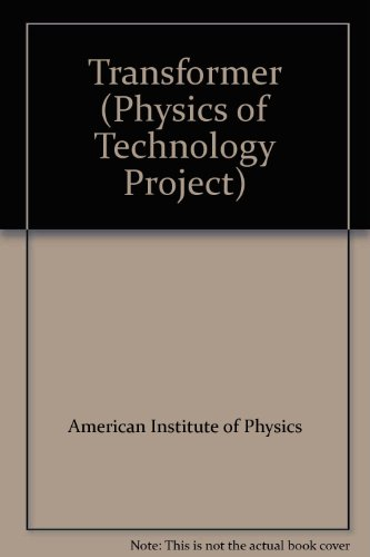 9780070017276: Transformer (Physics of Technology Project)