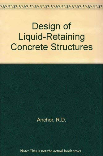 9780070017634: Design of Liquid Retaining Concrete Structures