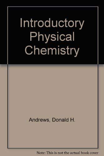 9780070017887: Introductory Physical Chemistry