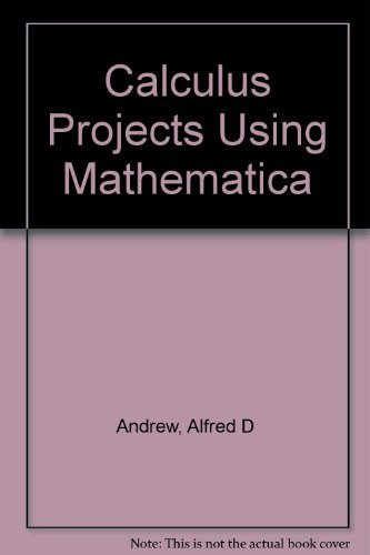 9780070017900: Calculus Projects Using Mathematica