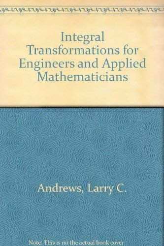 9780070018426: Integral Transforms for Engineers and Applied Mathematicians